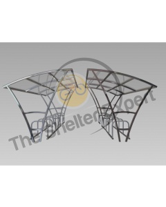 Armstrong 28 cycle double roof shelter