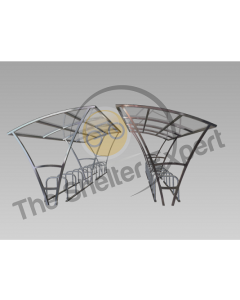 Armstrong 40 cycle double roof shelter