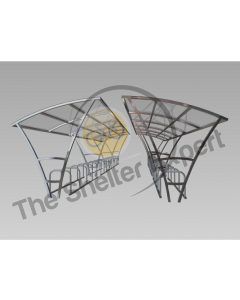Armstrong 60 cycle double roof shelter