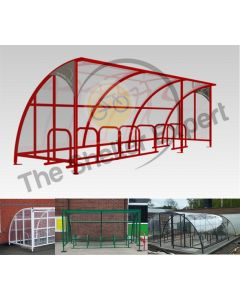 14 Bike Cycle Shelter - SOF14-Style13 and previous installations