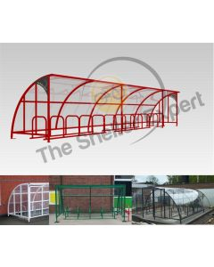 24 Bike Cycle Shelter - SOF24-Style13 and previous installations