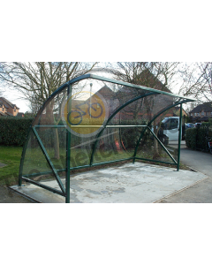 Expert Econony 10 Cycle open front shelter