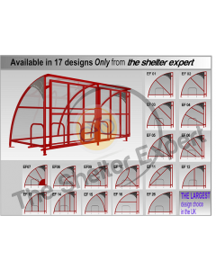 10 Cycle Expert Harlan gated front cycle Shelter SGF10