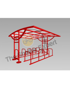 Ridings 20 cycle double row shelter