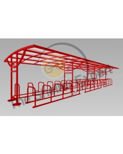 Ridings 60 cycle double row shelter