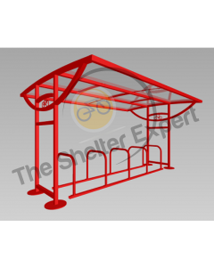 Ridings 10 cycle shelter