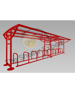 Ridings 20 cycle shelter