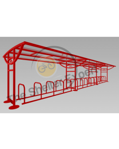 Ridings 30 cycle shelter