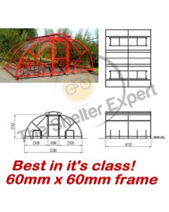 Salisbury 20 cycle closed compound with vented roof