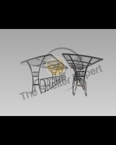 Samworth 60 cycle double row shelter