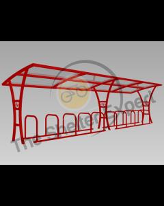 Samworth 20 Cycle single shelter