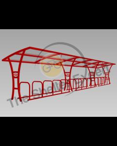 Samworth 30 cycle single shelter