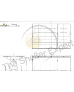 Sales drawing 28 cycle Ridings shelter