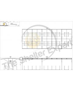 Sales drawing Ridings 48 cycle double row shelter
