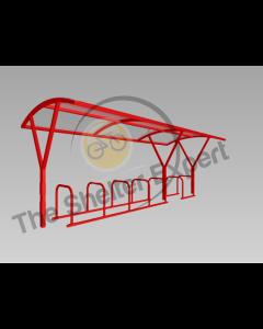 Farnsworth 14 Cycle shelter