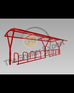 Farnsworth 20 Cycle shelter