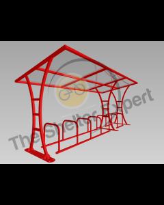 Tavistock 14 cycle shelter
