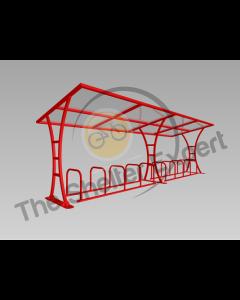 Tavistock 20 cycle shelter