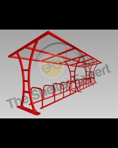 Tavistock 24 cycle shelter