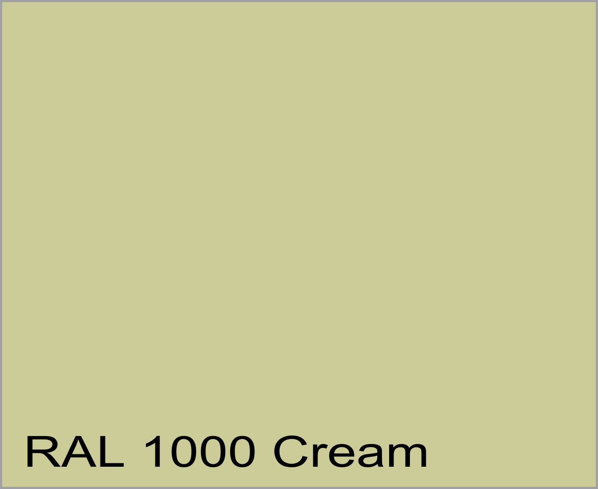 RAL1000 colour