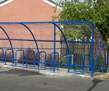 FS30 - Economy cycle shelter for 34 cycles