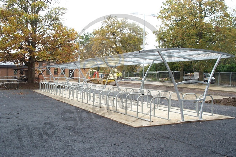 Armstrong Cycle Shelter